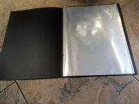 A3 Black Display Book