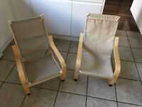 2 ikea children chairs