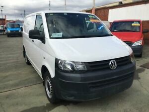 2014 Volkswagen Transporter T5 MY13 TDI 250 SWB Low White 5 Speed Manual Van Granville Parramatta Area Preview