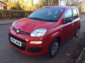 2015 FIAT PANDA 1.2 POP RED 1 YEAR MOT , CAT D 21000 LOW MILEAGE IMMACULATE CONDITION 1 OWNER