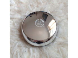 Body Shop Silver Toned Compact Mirror.