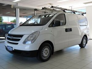 2013 Hyundai iLOAD TQ MY13 White 5 Speed Automatic Van Morley Bayswater Area Preview
