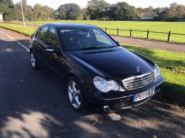 MERCEDES C200 CDi AUTO CLASSIC SE 4dr **SERVICE HISTORY**FULL LEATHER INTERIOR**DRIVES BRILLIANT**
