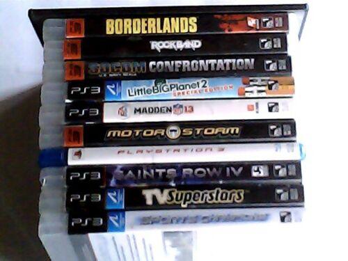 PlayStation 3 Videogames Lot Bundle 20+ Games Most Complete