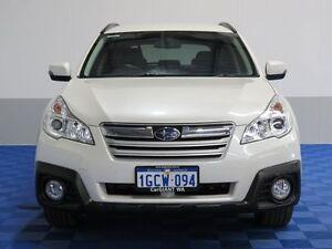 2013 Subaru Outback MY13 2.5I White Continuous Variable Wagon Jandakot Cockburn Area Preview
