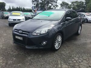 2011 Ford Focus LW Sport Blue 6 Speed Automatic Sedan Lansvale Liverpool Area Preview
