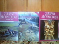 Aprrox 115 Current Archaeology magazines in very good/excellent condition £80 for all or EACH