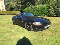 2004 BMW Z4 2.5 convertible mot until July 2017 excellent service history