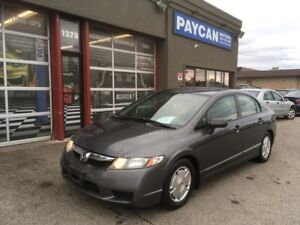 2009 Honda Civic Sdn DX-G | CHECK OUT OUR SITE PAYCANMOTORS.CA