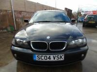 2004 BMW 320 2.0TD d ES diesel 6 speed very low mile SPARES OR REPAIR