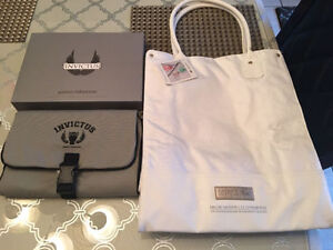 Paco Rabannne Toiletry Travel Bag & Lacoste Tote Bag