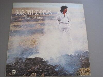 Vinyl LP - Jürgen Drews - Feuer + Wasser 1978, WEA WB 56578 im Zustand G+