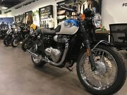 2018 Triumph BONNEVILLE T100 (900CC) Road Bike Collingwood Yarra Area Preview