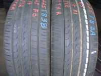 225/45/17 Pirelli x2 A Pair, 5+mm (Part Worn Used Tyres Romford Rm6 6lu) 205 215 235 245 40 50 55 16
