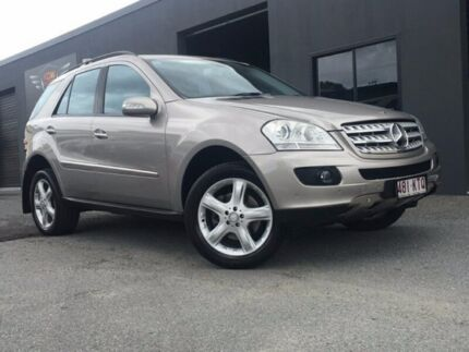 2007 Mercedes-Benz ML280 CDI W164 Wagon 4dr Spts Auto 7sp 4x4 3.0DT Gold Sports Automatic Wagon Southport Gold Coast City Preview