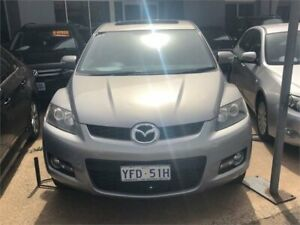 2007 Mazda CX-7 ER Luxury (4x4) Liquid Silver 6 Speed Auto Activematic Wagon Fyshwick South Canberra Preview