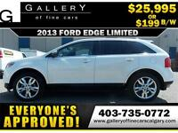 2013 Ford Edge LIMITED AWD $199 bi-weekly APPLY NOW DRIVE NOW