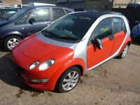 SMART FORFOUR - FE06EFA - DIRECT FROM INSURANCE COMPANY