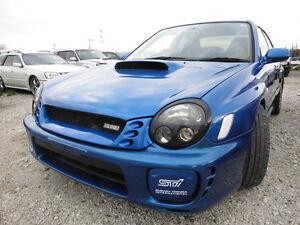 2002 Subaru Impreza WRX STI Sedan