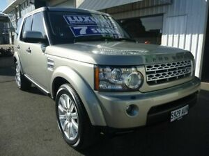 2012 Land Rover Discovery 4 Series 4 MY12 SDV6 CommandShift HSE Silver 6 Speed Sports Automatic Edwardstown Marion Area Preview