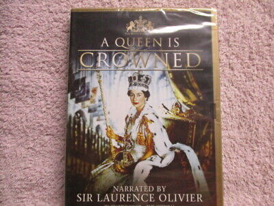 A Queen Is Crowned,Uk Brand New dvd,superb! Includes fast post :)