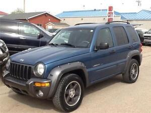 2003 Jeep Liberty Sport 206KMS $4995 MIDCITY 1831 SASK AVE