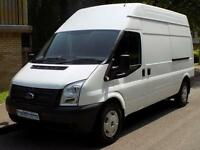 12(12) FORD TRANSIT 2.2 FWD 350 LWB HIGH ROOF 125 BHP 6 SPEED DIESEL EURO 5