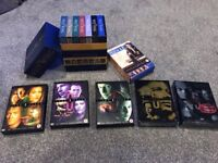 Bundle DVDs: XFile box sets 5,6,7,8,9 House Box set, WestWing Box set