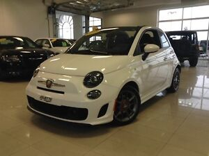 2015 FIAT 500 Abarth Cabrio TOIT BLUETOOTH AIR CLIM MAGS SIEGES