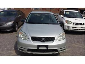 2004 TOYOTA MATRIX SAFETY AND ETESTED EXCELLENT COND MANUAL
