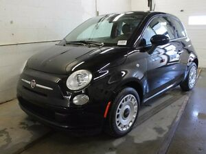 2015 Fiat 500 POP/ LOW KILOMETER/ ONE OWNER/ CLEAN CARPROOF