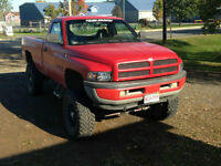 1997 Dodge Ram, 8 Inch lift on 37s. Asking $4500!