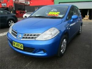 2011 Nissan Tiida C11 SERIES 3 MY07 ST 1.8 L Blue Automatic Hatchback Camden Camden Area Preview