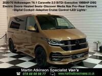 2020 70 VW Volkswagen Caravelle BiTDi 199ps SWB DSG Executive MA-SV Edition