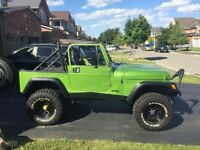 1989 Jeep Wrangler YJ $4000 if its gone today or tomorrow!!!