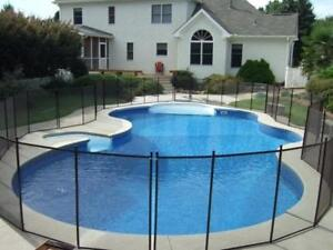 Removable 15' Pool Fence Sections (4 Ft. Tall) Only $13.33 per feet. Easy to Install, Save $$$