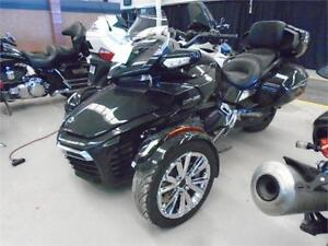 2016 Can-Am F3 Limited 1330 SE6 Steel Blk Met