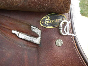 "17"" Crosby English Saddle Penticton Kelowna image 8"