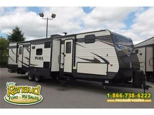 NEW 2017 Palomino Puma 32 FBIS Travel Trailer