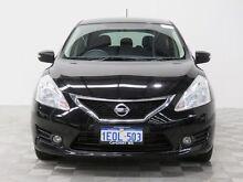 2013 Nissan Pulsar C12 ST-L Black Continuous Variable Hatchback Jandakot Cockburn Area Preview