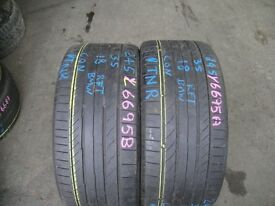 275 40 20 Pirelli P Zero TM, BMW Runflat x2 A Pair, 5.5mm (168 High Road, RM6 6LU) Part Worn