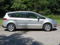 FORD S-MAX 2.0 ZETEC TDCI 5d AUTO 138 BHP (silver) 2010