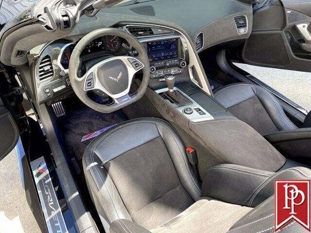 2016 Black Chevrolet Corvette Z06 3LZ   C7 Corvette Photo 4