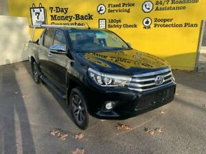 2017 Toyota Hilux GUN126R SR5 Double Cab Black 6 Speed Sports Automatic Utility Invermay Launceston Area Preview