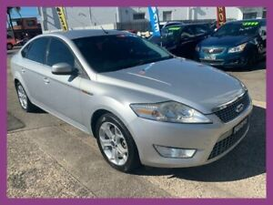 2010 Ford Mondeo MB Zetec TDCi Silver 6 Speed Direct Shift Hatchback Broadmeadow Newcastle Area Preview
