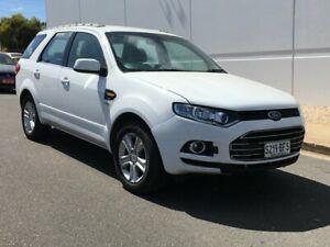2011 Ford Territory SZ TX Seq Sport Shift AWD White 6 Speed Sports Automatic Wagon Blair Athol Port Adelaide Area Preview