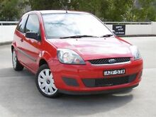 2006 Ford Fiesta WP LX Red 5 Speed Manual Hatchback Alexandria Inner Sydney Preview