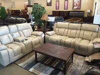 RECLING SOFA, LOVE SEAT AND CHAIR...BLOW OUT PRICE!!!