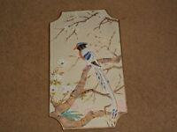 Chinoiserie Bird Plaque