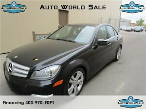 2012 Mercedes-Benz C300|4Matic |AWD |PANORAMIC|NAV
